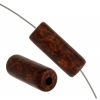 Ceramic Bead Cylinder 7.5/21mm Brown